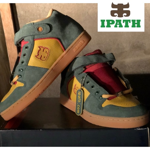 new concept eb96f 501f1 IPATH - GRASSHOPPER Rasta Suede Leather